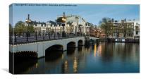 Magere Brug, Amsterdam, Canvas Print