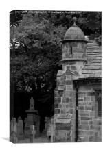 The Ancient Chapel of Maghull, Canvas Print