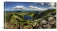 Red Tarn and Striding Edge, Canvas Print