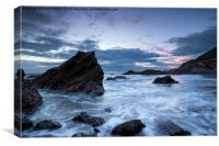 Cornwall Coast at Whitsand Bay, Canvas Print