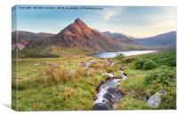 Mount Tryfan in Snowdonia, Canvas Print
