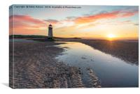 Talacre in North Wales, Canvas Print