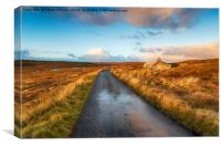 Road on the Isle of Lewis, Canvas Print
