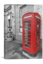 Phone Booth, Canvas Print