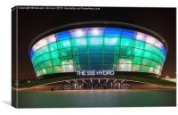 The Hydro Arena, Canvas Print