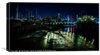 Docklands, Canvas Print