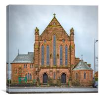Our Holy Redeemers Chapel, Canvas Print