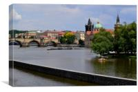 Prague Series - The Weir, Canvas Print