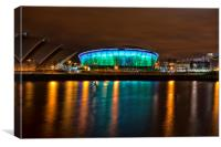 SSE Hydro, Glasgow, Canvas Print