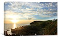 Evening Walk to Baggy Point, Canvas Print
