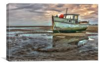 Old Boat, Canvas Print