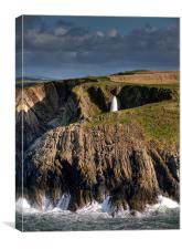 Porth Gain, Canvas Print