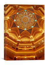 Emirates Palace, Abu Dhabi, UAE, Canvas Print