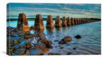 The Causeway, Canvas Print