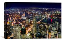 New York From Above One World Trade Center, Canvas Print