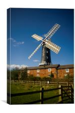 Wolds Windmill, Canvas Print