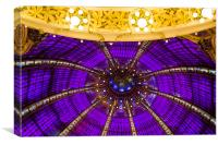 Dome of the Galeries Lafayettes, Canvas Print