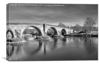 Stirling Old Bridge, Scotland., Canvas Print