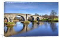 Stirling Old Bridge, Scotland, Canvas Print