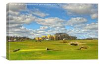 The Old Course, St Andrews, Scotland, Canvas Print
