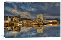 Lochinver Harbour, Sutherland, Scotland., Canvas Print