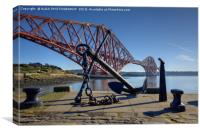 Forth Bridge, South Queensferry, Scotland., Canvas Print