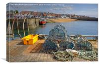 Anstruther Harbour, Fife, Scotland, Canvas Print