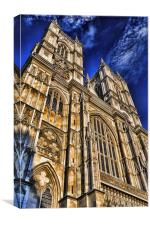 Westminster Abbey West Front, Canvas Print