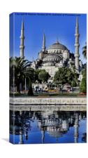 Blue Mosque, Canvas Print