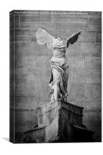 Winged Victory of Samothrace - #3, Canvas Print