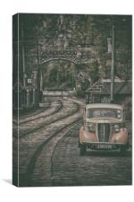 old Car, Canvas Print