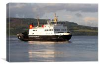 Isle of Bute ferry, Canvas Print