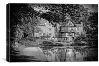 worsley packet house, Canvas Print