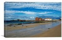 The West Bay, North Berwick, Canvas Print