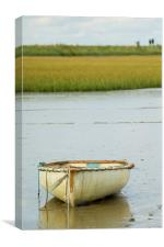 Low Water, Canvas Print