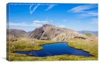 View to Great Gable Lake District, Canvas Print