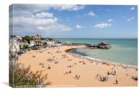 View over Broadstairs, Canvas Print