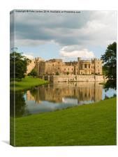 Raby Castle England, Canvas Print