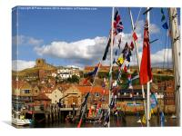 Whitby Regatta 2, Canvas Print