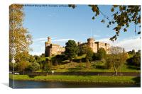 Inverness Castle, Canvas Print