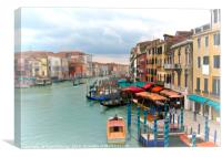 The View From Rialto, Canvas Print