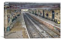 Pickering Station, Canvas Print