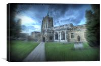 Chelmsford Cathedral, Canvas Print