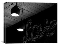 It's all you Need, Canvas Print