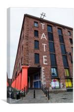 Tate Liverpool (portrait), Canvas Print