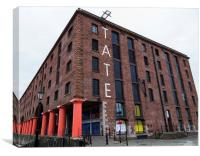 Tate Liverpool, Canvas Print