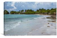 Cayo Coco after sunrise, Canvas Print
