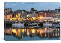 Padstow at Dusk, Canvas Print