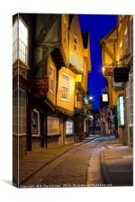 The Shambles, York, Canvas Print