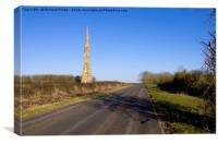 Sir Tatton Sykes Monument, Sledmere  East Yorkshir, Canvas Print